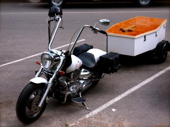 Harley HearseMotero hasta la muerte