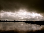 Storm brewing on the Shannon