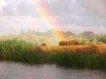Rainbow over Leitrim Village